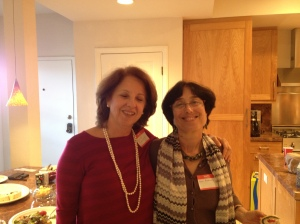 Monica Blauner and Lynn Rosenfield